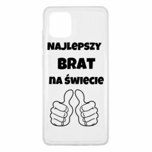 Etui na Samsung Note 10 Lite Napis - Najlepszy brat na świecie