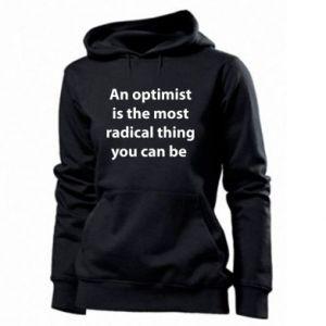 Damska bluza Napis: An optimist
