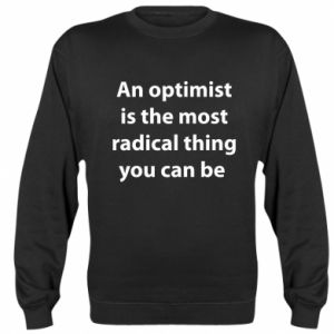 Bluza (raglan) Napis: An optimist
