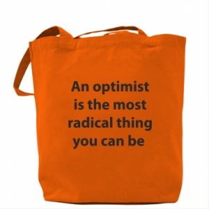 Torba Napis: An optimist