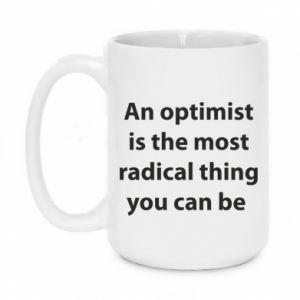 Kubek 450ml Napis: An optimist