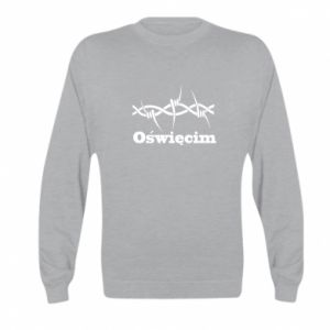 Kid's sweatshirt Inscription: Oswiecim and wire