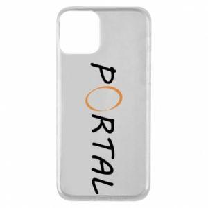 Etui na iPhone 11 Napis Portal