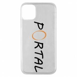 Etui na iPhone 11 Pro Napis Portal