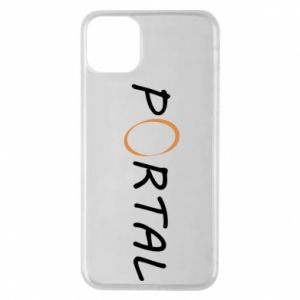 Phone case for iPhone 11 Pro Max Inscription Portal