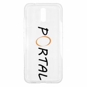Etui na Nokia 2.3 Napis Portal