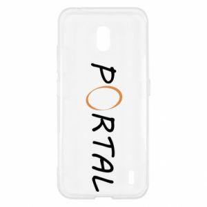 Etui na Nokia 2.2 Napis Portal
