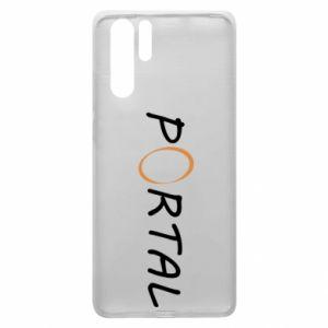 Etui na Huawei P30 Pro Napis Portal