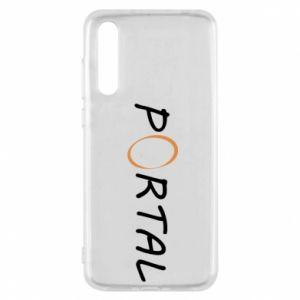Etui na Huawei P20 Pro Napis Portal