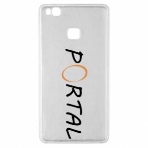Etui na Huawei P9 Lite Napis Portal