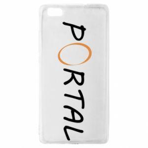 Etui na Huawei P 8 Lite Napis Portal