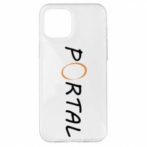 Etui na iPhone 12 Pro Max Napis Portal