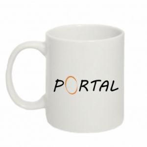 Kubek 330ml Napis Portal