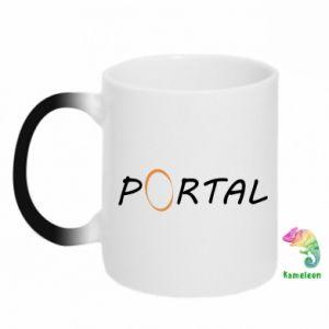 Kubek-kameleon Napis Portal