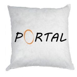 Poduszka Napis Portal