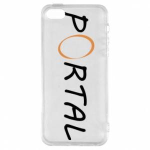 Etui na iPhone 5/5S/SE Napis Portal