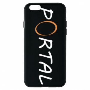 Etui na iPhone 6/6S Napis Portal