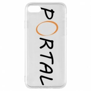 Etui na iPhone 7 Napis Portal