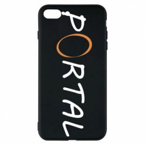 Etui na iPhone 7 Plus Napis Portal