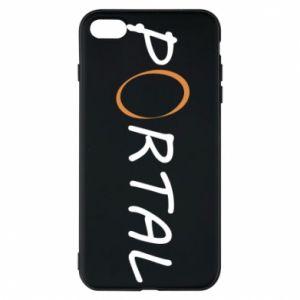 Etui na iPhone 8 Plus Napis Portal