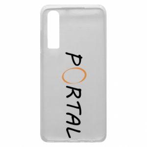 Etui na Huawei P30 Napis Portal
