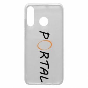 Etui na Huawei P30 Lite Napis Portal
