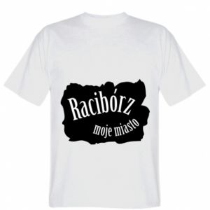 T-shirt Inscription - Raciborz my city