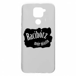 Xiaomi Redmi Note 9 / Redmi 10X case % print% Inscription - Raciborz my city