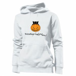 Damska bluza Napis: Wesołego Halloween
