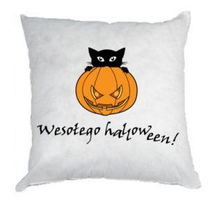 Poduszka Napis: Wesołego Halloween
