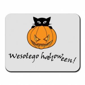 Mouse pad Inscription: Happy Halloween - PrintSalon