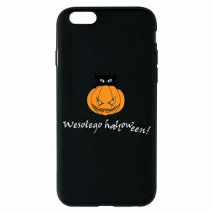 Phone case for iPhone 6/6S Inscription: Happy Halloween - PrintSalon