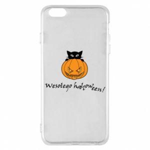 Phone case for iPhone 6 Plus/6S Plus Inscription: Happy Halloween - PrintSalon