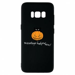 Etui na Samsung S8 Napis: Wesołego Halloween
