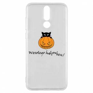 Etui na Huawei Mate 10 Lite Napis: Wesołego Halloween
