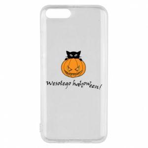 Etui na Xiaomi Mi6 Napis: Wesołego Halloween