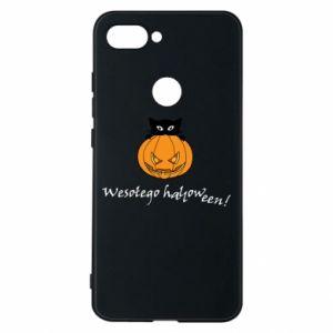 Etui na Xiaomi Mi8 Lite Napis: Wesołego Halloween