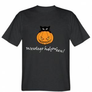Koszulka Napis: Wesołego Halloween