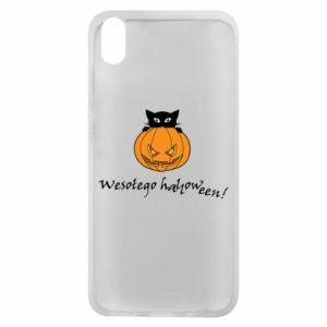 Etui na Xiaomi Redmi 7A Napis: Wesołego Halloween