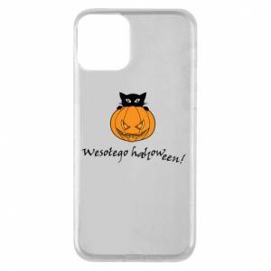 Etui na iPhone 11 Napis: Wesołego Halloween