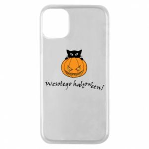 Etui na iPhone 11 Pro Napis: Wesołego Halloween