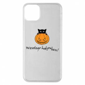 Etui na iPhone 11 Pro Max Napis: Wesołego Halloween