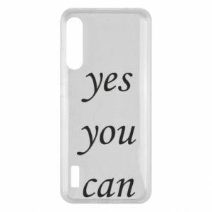 Etui na Xiaomi Mi A3 Napis: Yes you can