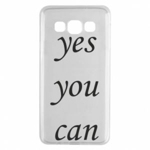 Etui na Samsung A3 2015 Napis: Yes you can