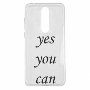 Etui na Nokia 5.1 Plus Napis: Yes you can