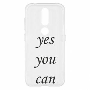 Etui na Nokia 4.2 Napis: Yes you can