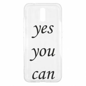 Etui na Nokia 2.3 Napis: Yes you can