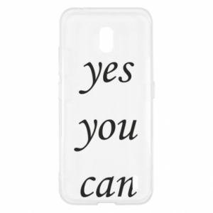 Etui na Nokia 2.2 Napis: Yes you can