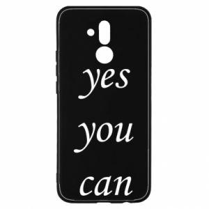 Etui na Huawei Mate 20 Lite Napis: Yes you can
