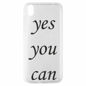 Etui na Huawei Y5 2019 Napis: Yes you can